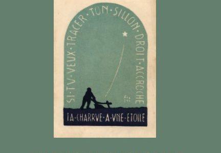 """""""Un paysan trace sa vie, sa charrue accrochée aux étoiles"""" : la biographie d'Albert Delamarre par Catherine Bigot"""